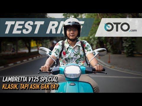 Lambretta V125 Special | Test Ride | Klasik, Tapi Asik Gak Ya? | OTO.com