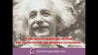 Albert Einstein Quotes About Technology