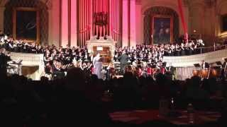 """God Bless Us, Everyone"" from Disney's ""A Christmas Carol"" featuring Jane Shivick, soprano 12/14/13"