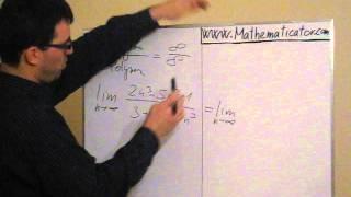 Limita posloupnosti - podíl polynomů - v čitateli i ve jmenovateli polynom stejného řádu
