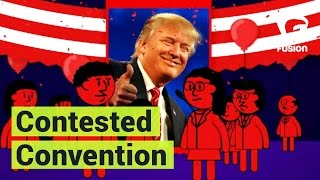 Contested convention explained in 3 minutes