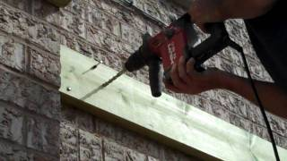 One example of how to attach Your Deck to your house.wmv