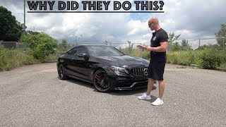 The 2019 Mercedes AMG C63s Is AMAZING And DISAPPOINTING At The Same Time..