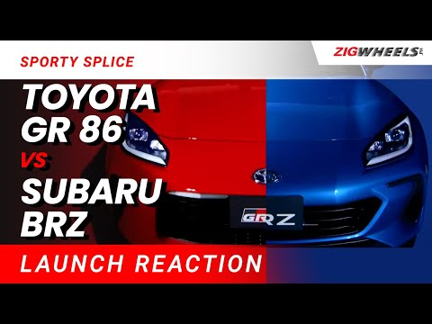 Sporty Splice | 2021 Toyota GR 86 and Subaru BRZ Reaction
