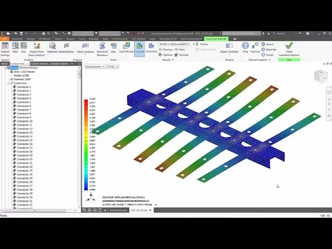 Integrated Simulation with Autodesk Nastran In-CAD