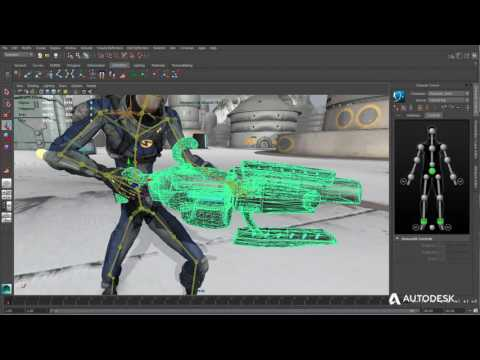 Maya LT 2017 Animation Tools Indie Game Makers