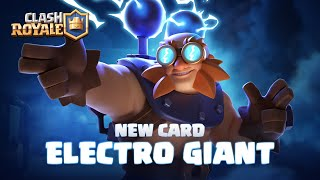 Clash Royale: NEW CARD REVEAL ⚡ ELECTRO GIANT - Download this Video in MP3, M4A, WEBM, MP4, 3GP