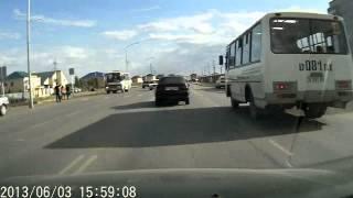 Жесткое ДТП в Актобе.