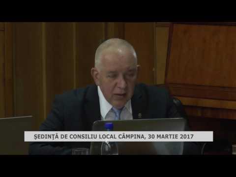 Ședința Consiliului Local Câmpina din 30 martie 2017
