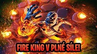 FIRE KING 4 FÁZE - KDE JI NAJÍT  - Fortnite Battle Royale CZ/SK