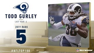 #5: Todd Gurley (RB, Rams) | Top 100 Players of 2019 | NFL