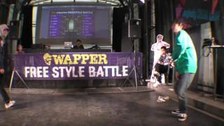 たつきvs大空BEST16/E-FES2015×WAPPERFREESTYLEBATTLE