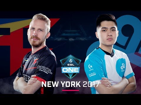CS:GO - FaZe vs. Cloud9 [Mirage] Map 1 - Semi Finals - ESL One New York 2017