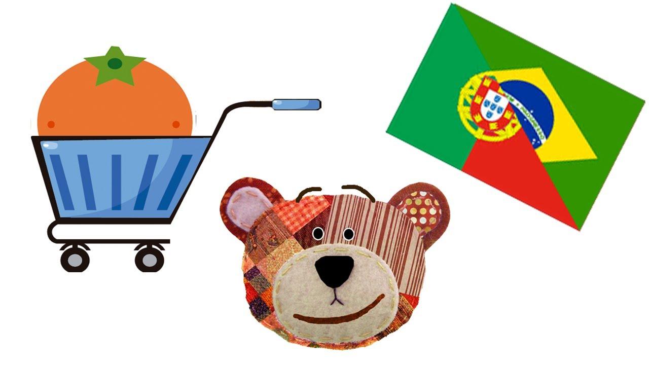 Frutas en portugués - Actividades para niños