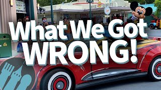 5 Things We Got Totally Wrong About Disney Worlds Reopening!