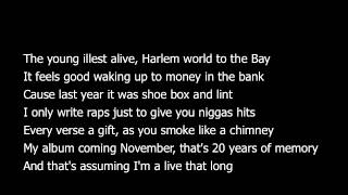 Asap Rocky- Leaf (Lyrics)