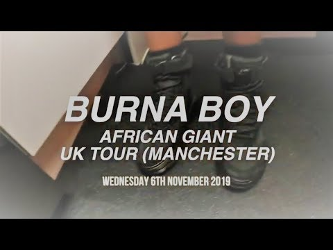 BURNA BOY AFRICAN GIANT UK TOUR