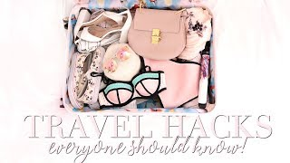 SUMMER TRAVEL HACKS EVERYONE NEEDS TO KNOW! | Freddy My Love