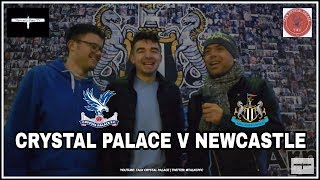 Crystal Palace v Newcastle United   Preview with Talk Crystal Palace
