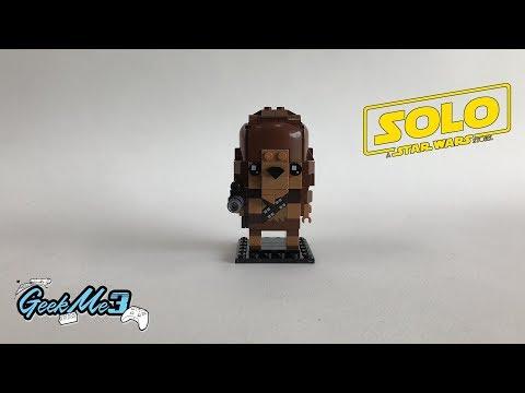 Vidéo LEGO BrickHeadz 41609 : Chewbacca