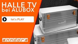 SOMMERTOUR 2020 Neue Marke alubox zu finden unter  www.alubox.eu