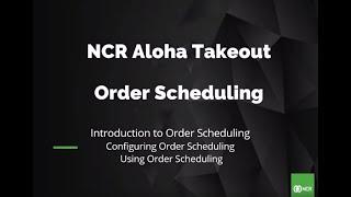 NCR Aloha video