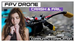 FPV drone Crash & fail Compilation - giveaway winner | MaiOnHigh