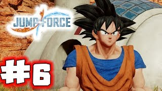 JUMP FORCE Gameplay Walkthrough Part 6 - Goku Meets Light (Let's Play)