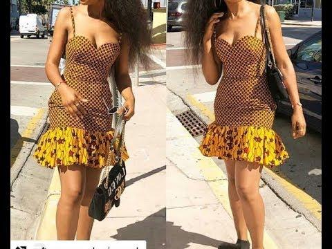 DIY HOW TO MAKE ANKARA TUBE BREASTCUT DRESS PATTERN 1   |  Jessica Nneka