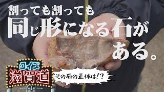 割っても割っても同じ形になる石がある?:クイズ滋賀道