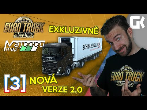 EXKLUZIVNĚ NOVÁ VERZE 2.0! | Euro Truck Simulator 2 MajooouMap #03