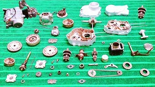 How To Assemble Complete CD-70 Honda Motorcycle Engine