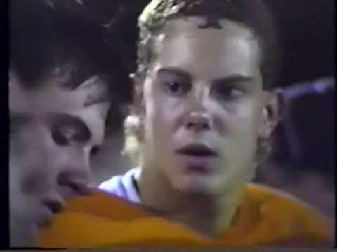 Waterloo (IL) High School Football 1989 - Week 4 (vs Freeburg @ Field-Level View)