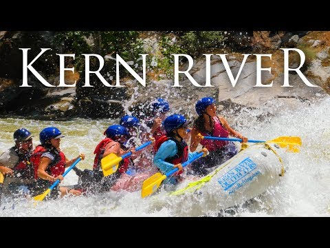 Sierras White Water Rafting in 4K | Overnight Trip on the Kern River in California