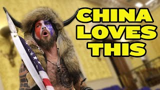 China LOVES US Capitol Chaos | Mass Arrests in Hong Kong thumbnail