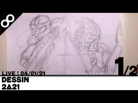 [LIVE !] Dessin : 2Δ21 (1/2) [FR]