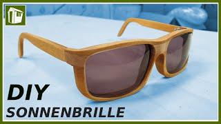 DESIGNER Sonnenbrille aus Holz bauen! Tutorial   Anleitung   Franks Shed