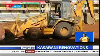 Renovations continue on Safaricom Stadium Kasarani