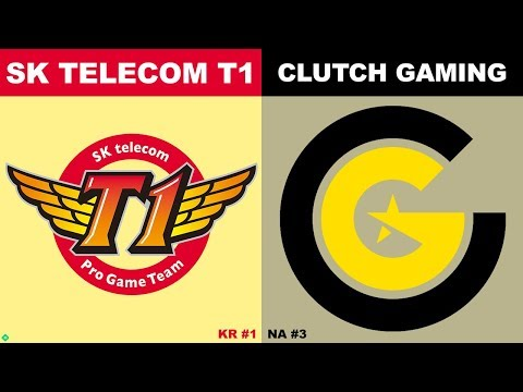 SKT vs CG - Worlds 2019 Group Stage Day 7 - SK Telecom T1 vs Clutch Gaming