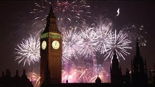 Happy New Year E-Cards, Programme website  London 2015 Fireworks on Happy New Year
