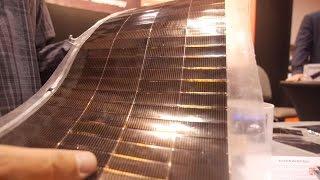 Alta Devices Flexible Solar Cells using Gallium Arsenide