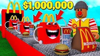 BUILDING MY OWN $1,000,000 MCDONALD'S TYCOON.. (Roblox)