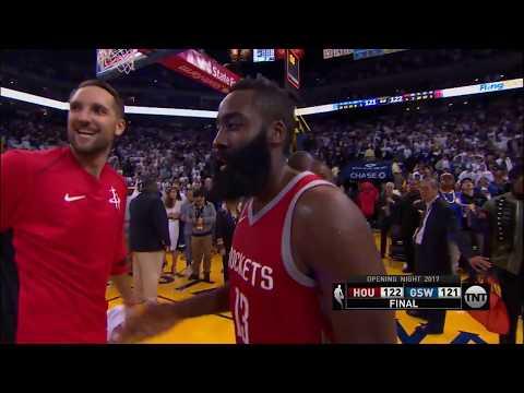 Houston Rockets vs Golden State Warriors: October 17, 2017