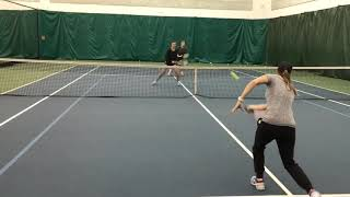 Tuesday Tennis Tips: Poaching practice