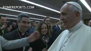 El Papa Francesc demana franquesa als joves que preparen el sínode
