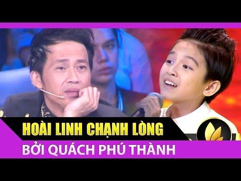 Hoài Linh đứng ngồi khồn yên khi nghe 2 câu hò Quách Phú Thành hát