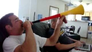 Longest Vuvuzela Sound
