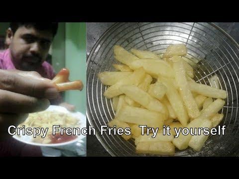 Crispy French Fries Homemade