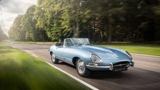 Jaguar electrifies its classic E-type car