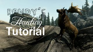 Randy's Hutning Tutorial